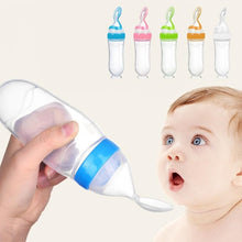 Load image into Gallery viewer, Baby Feeding Bottle Spoon Milk Bottle