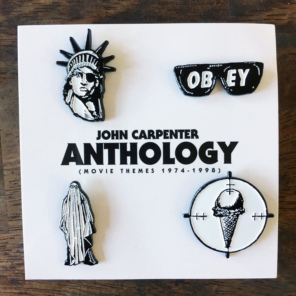 Anthology Metal Badge Set