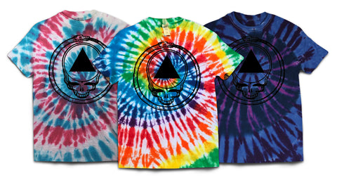 Grateful Bones Tie-Dyed T-Shirt