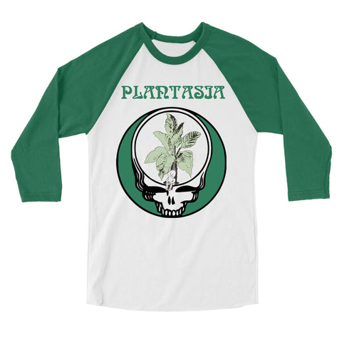"Plantasia ""Plant Your Face"" Baseball Jersey"