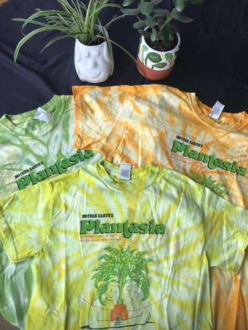 "Tie-Dye Plantasia ""Cover Art"" T-Shirt"