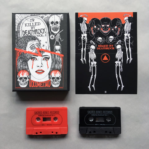 Killed by Deathrock Vols. 1 and 2 (Deluxe Tape Set)