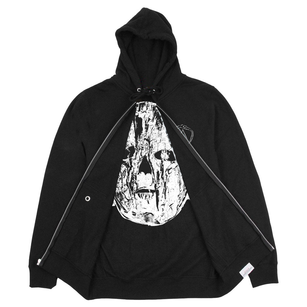 Jesse Draxler Interior Print Zip-Up Hoodie