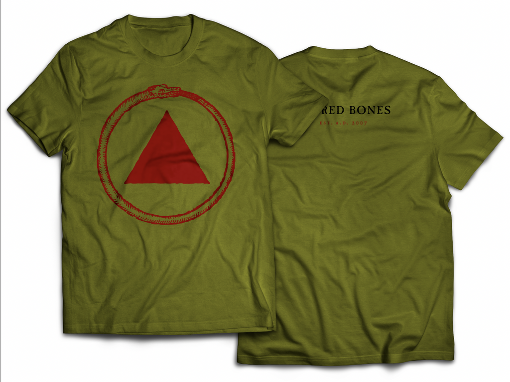 Army Green Logo T-Shirt
