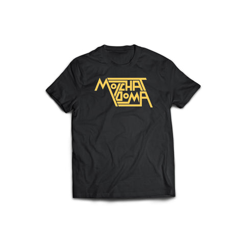 Molchat Doma Yellow Logo T-Shirt