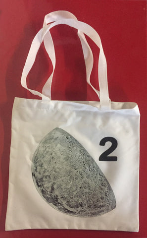 Moon Duo Vinyl Tote Bag