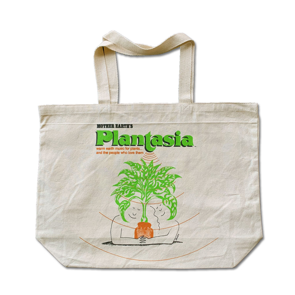 Plantasia Jumbo Canvas Bag