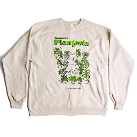 "Plantasia ""Man With His Plants"" Crew Neck Sweatshirt"