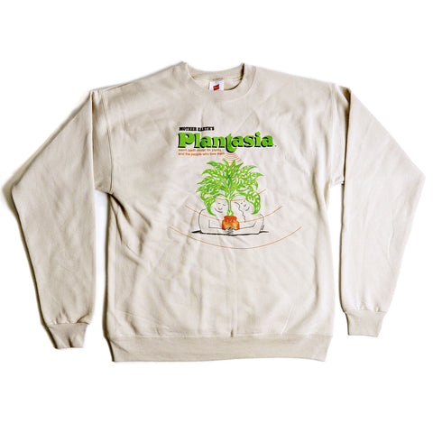 Plantasia Cover Art Crew Neck Sweatshirt