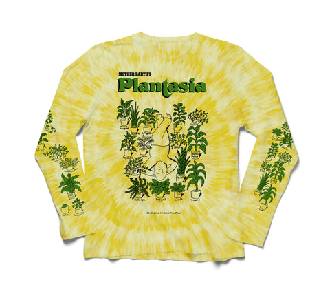 Tie-Dyed 'Man With His Plants' Longsleeve Tee