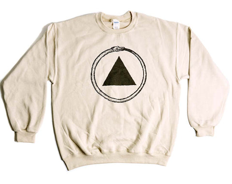 Tan Logo Crew Neck Sweatshirt