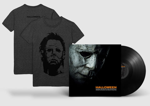 "Halloween LP + ""The Shape's Mask"" T-Shirt Bundle"