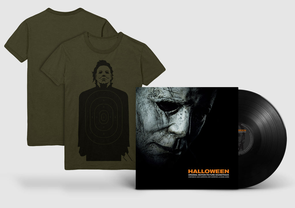 "Halloween LP + ""Target Practice"" T-Shirt Bundle"