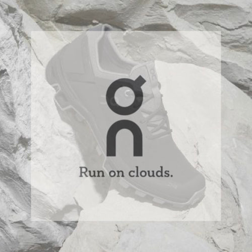 On running logo