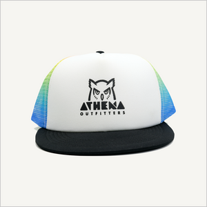 AO Rainbow Trucker Hat
