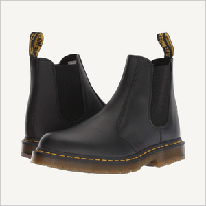 Pair of Dr. Martens 2976 Chelsea Boots in Black Nappa.