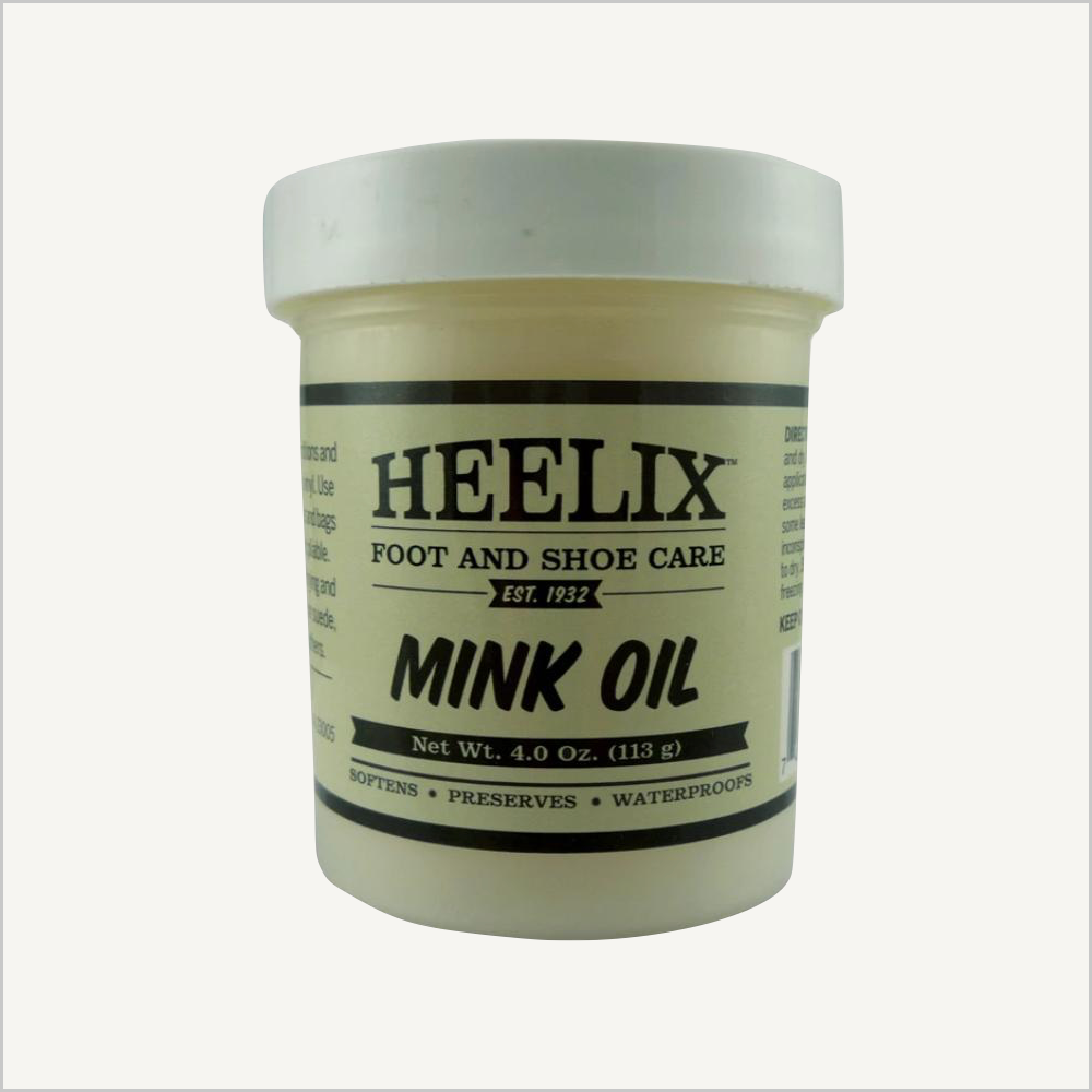 A picture of Heelix Foot and Shoe Care Mink Oil