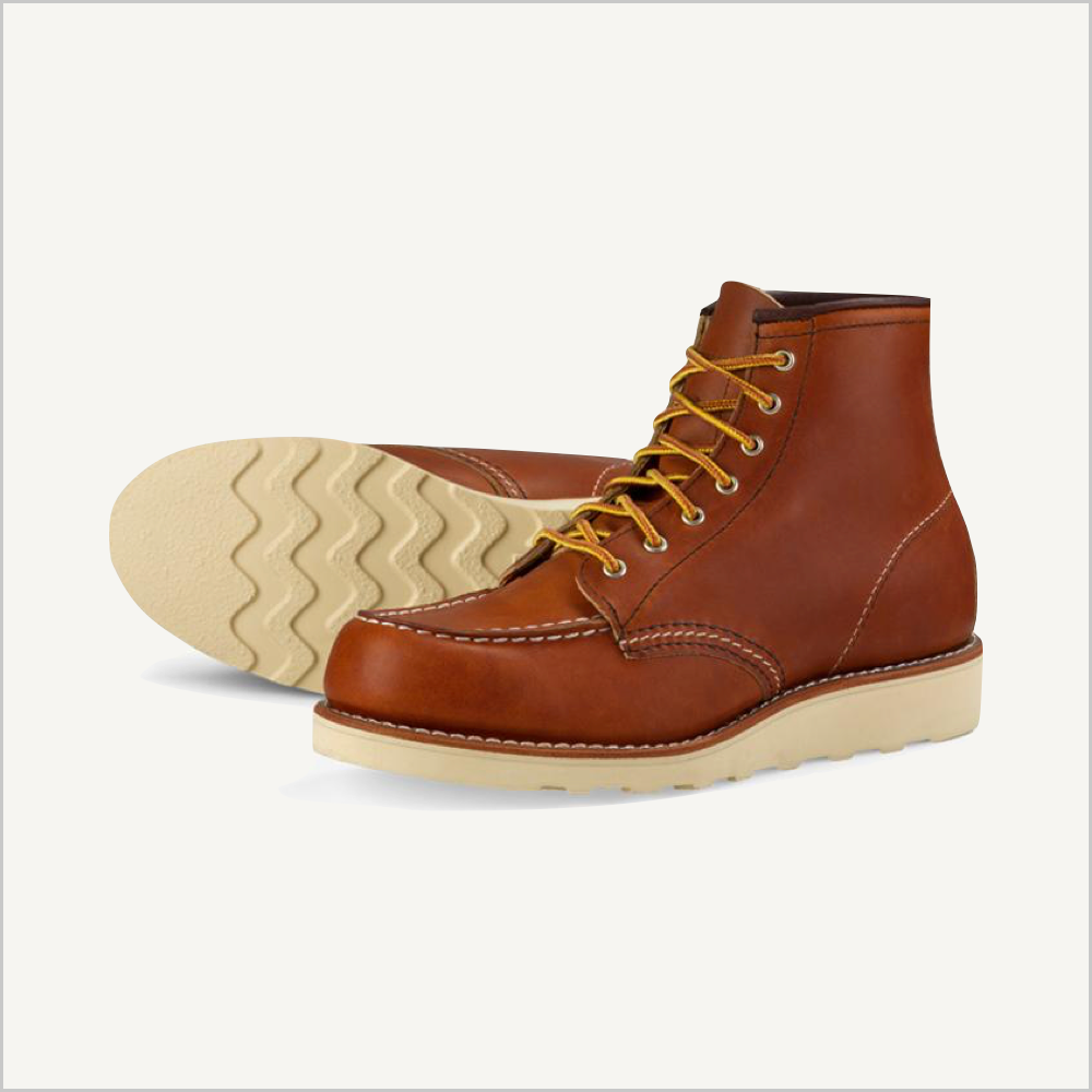 "Red Wing Heritage Women's Classic Moc 6"" Boot"