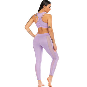 2 Piece Mesh Yoga Set