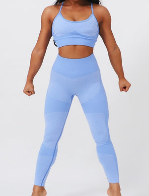 Seamless Fitness Match Yoga Set