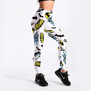 Digital Batman print Leggings