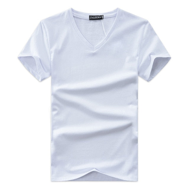 Solid Short Sleeve T Shirt