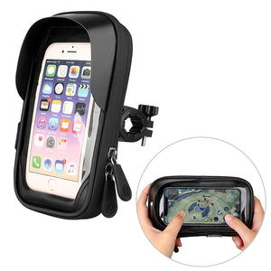 Rainproof Bike Phone Holder