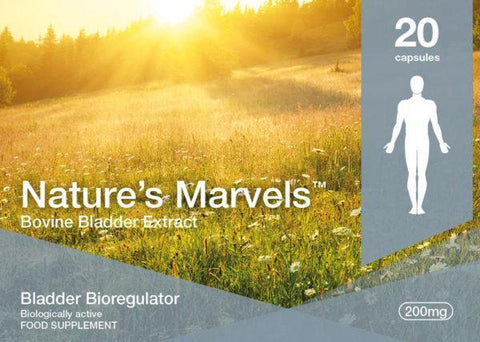 Nature's Marvels – Bladder Bioregulator with Chitumir - 20 Caps