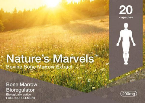 Nature's Marvels – Bone Marrow Bioregulator with Bonomarlot 20 Caps
