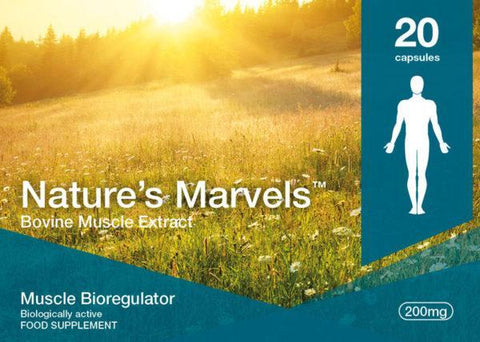 Nature's Marvels – Muscle Bioregulator with Gotratix 20 Caps
