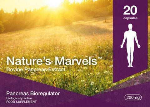 Nature's Marvels – Pancreas Bioregulator with Suprefort 20 Caps