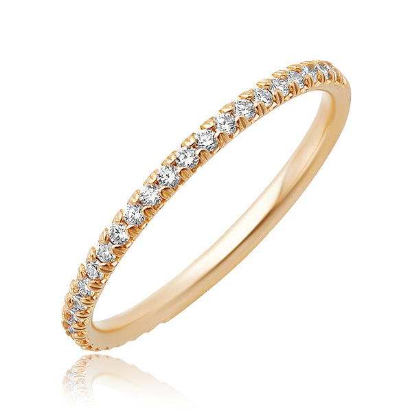 0.26 ctw Diamond Band in 18kt RG