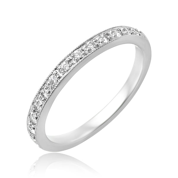 0.28 ctw Diamond Channel Set Band in Platinum