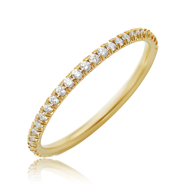 0.26 ctw Diamond Band in 18kt YG