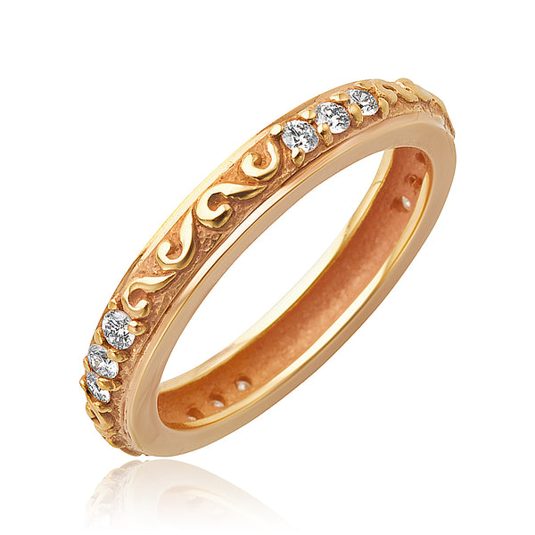 "0.24 ctw Diamond ""Sienna"" Band in 18k RG"