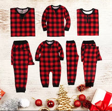Load image into Gallery viewer, Oliver Plaid Matching PJ Set