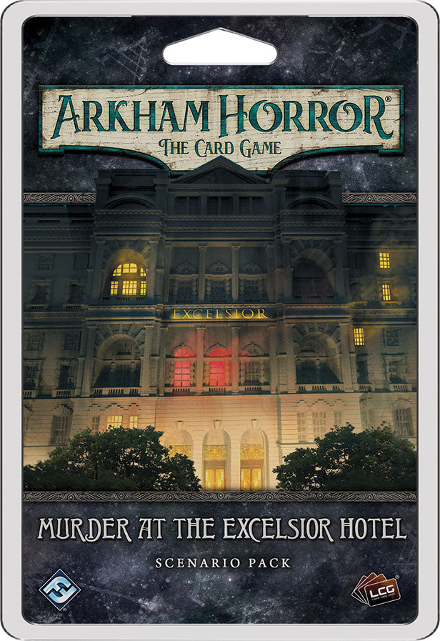 Arkham Horror LCG: Murder at the Excelsior Hotel Scenario Pack | Games King Store