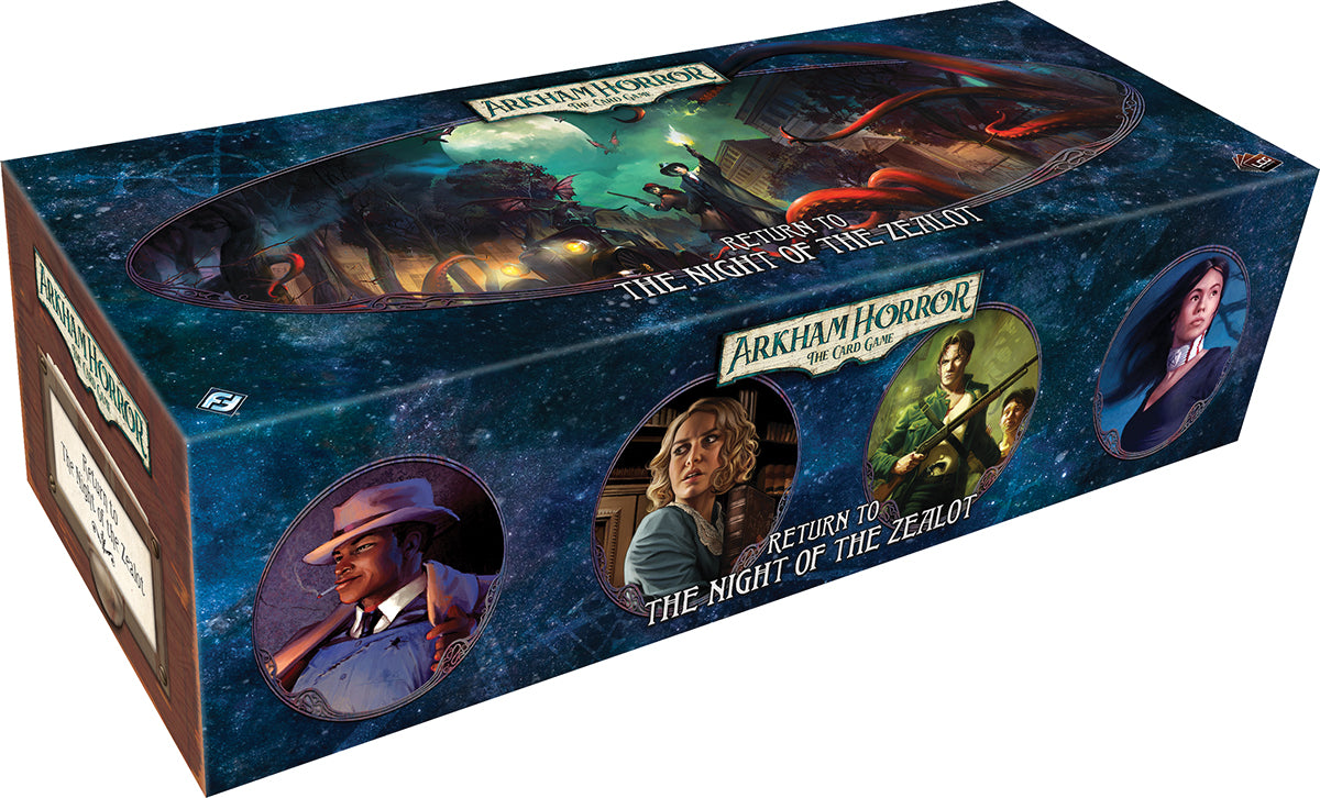 Arkham Horror LCG: Return of the Night of the Zealot Expansion | Games King Store