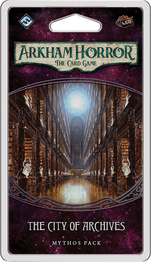 Arkham Horror LCG: The City of Archives Mythos Pack | Games King Store