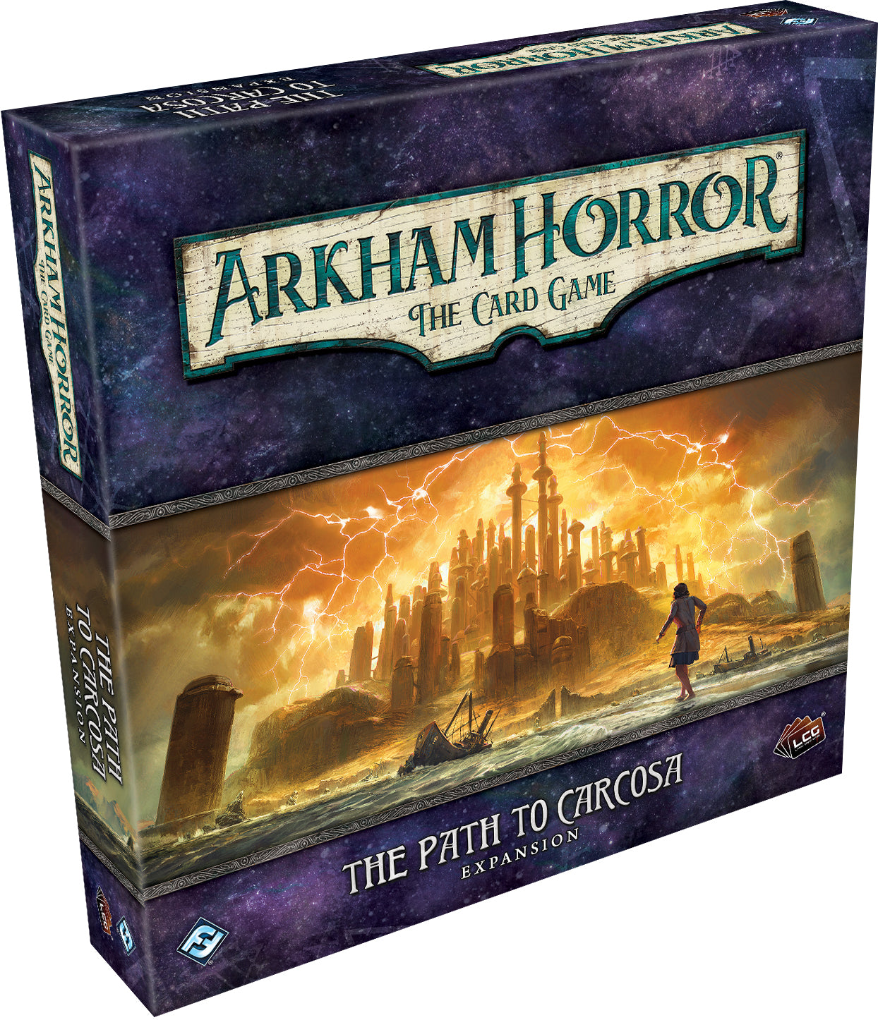 Arkham Horror LCG: The Path to Carcosa Expansion | Games King Store