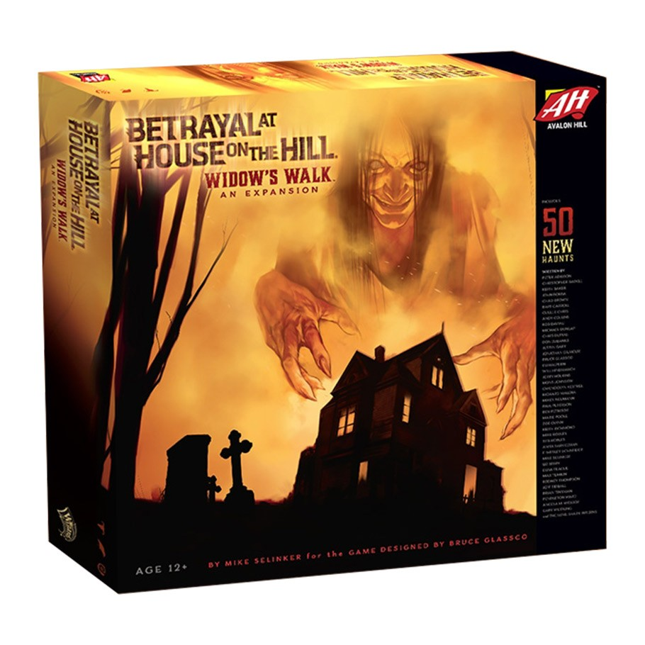 Betrayal at House on the Hill: Widow's Walk | Games King Store