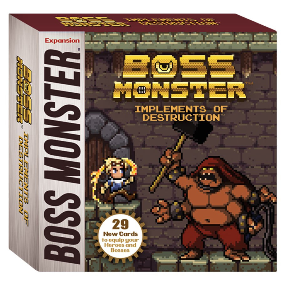 Boss Monster: Implements of Destruction Expansion | Games King Store