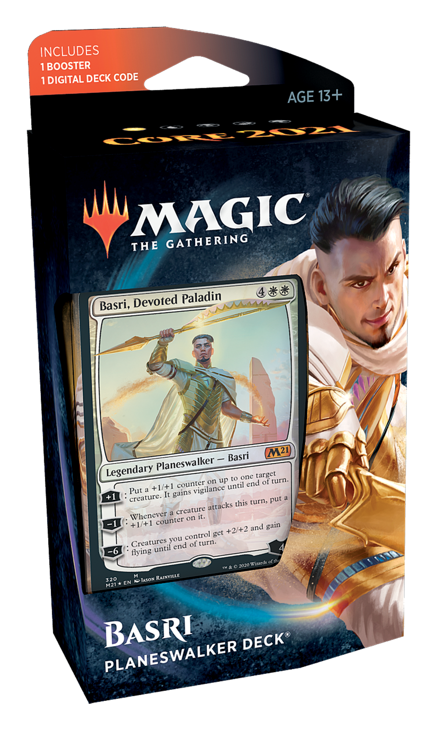 Core Set 2021 Planeswalker Deck: Basri | Games King Store