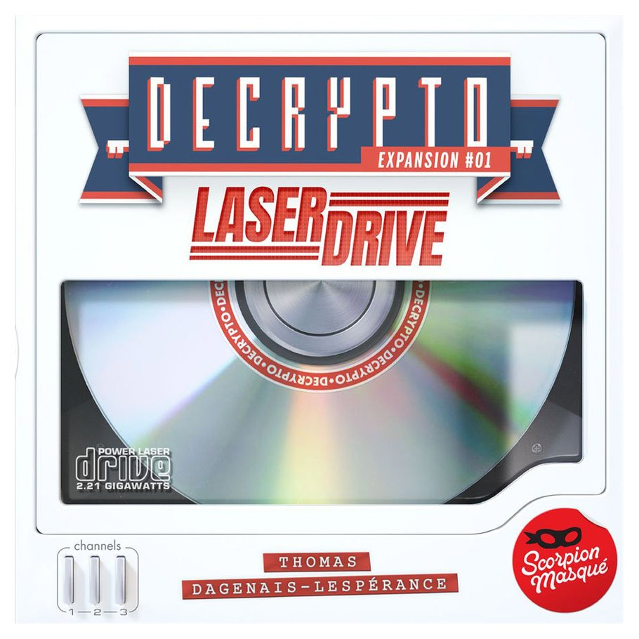 Decrypto Laser Drive | Games King Store
