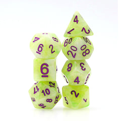 Dice 7ct Acid Arrow | Games King Store