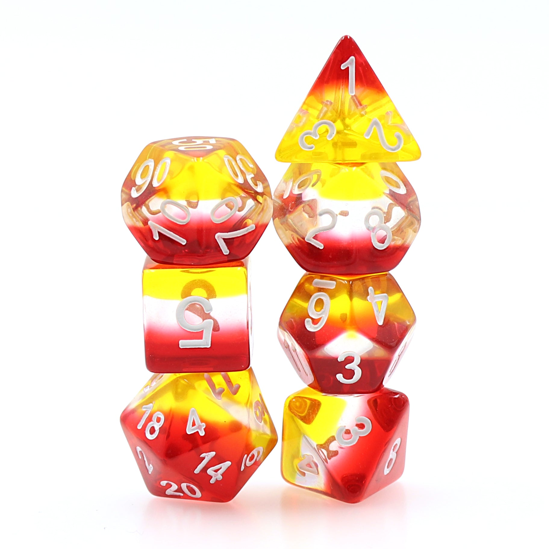 Dice 7ct Inferno | Games King Store