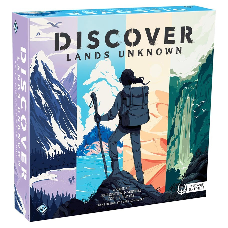 Discover Lands Unknown | Games King Store