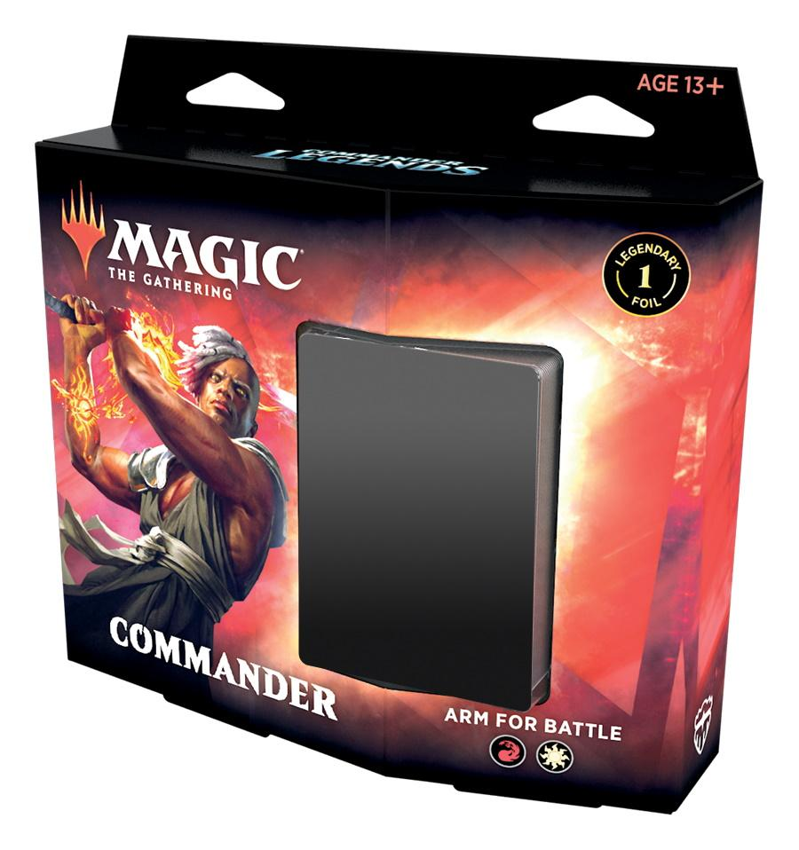 Magic: the Gathering: Commander Legends Commander Deck – Arm for Battle | Games King Store