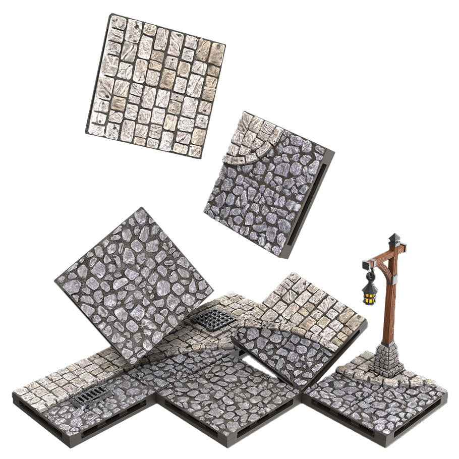 Warlock Tiles : Town and Village Tiles: Town Square Expansion | Games King Store