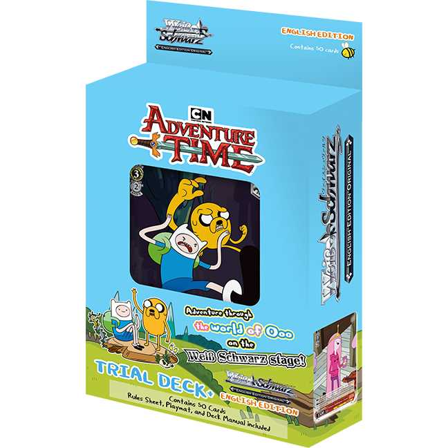 Weiss Schwarz: Trial Deck Plus - Adventure Time | Games King Store